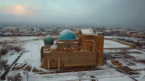 Mausoleum of Khoja Ahmed Yasawi in Turkestan