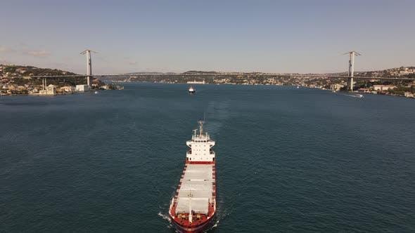 Cargo Ship Istanbul