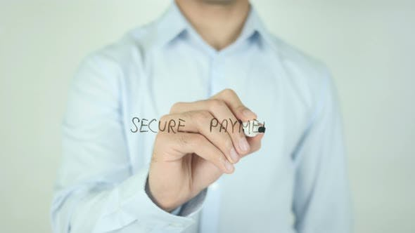 Thumbnail for Secure Payment, Writing On Screen