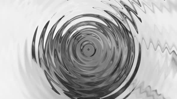 Metallic Liquid Ripple Background