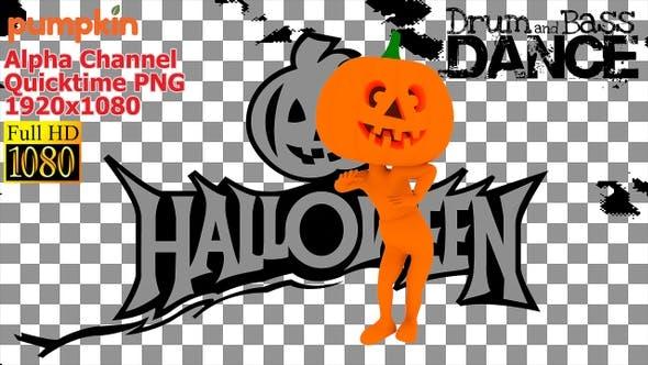Thumbnail for 3d Halloween Holiday Pumpkin
