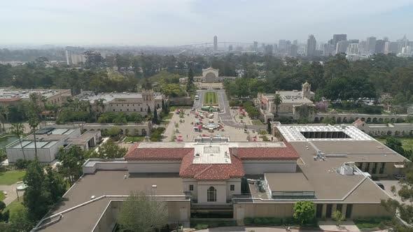 Thumbnail for Balboa Park Luftaufnahmen in San Diego