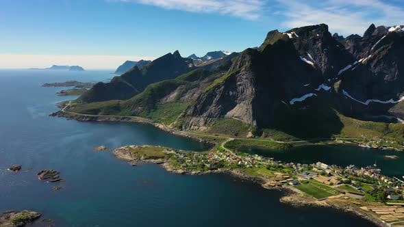 Thumbnail for Reine Lofoten Is an Archipelago in the County of Nordland, Norway