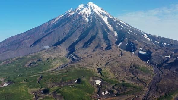 Thumbnail for Koryaksky Volcano on Kamchatka Peninsula
