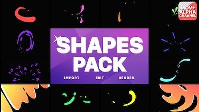 Liquid Shapes Pack | Motion Graphics