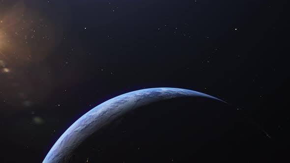 Orbiting Around a Planet