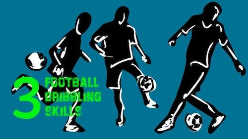 3 football dribbling skills