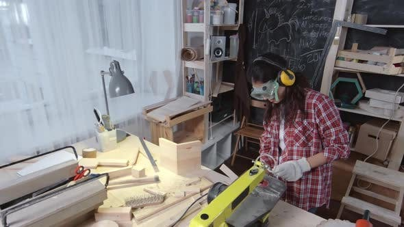 Woodworking Woman