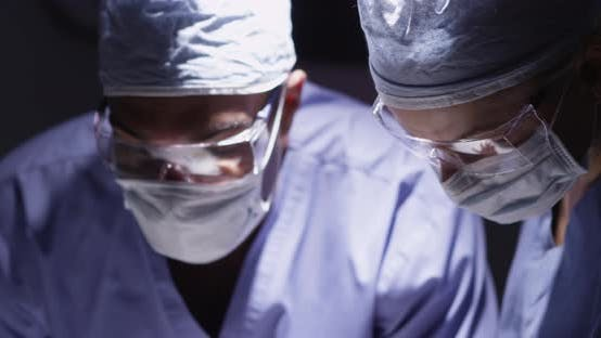 Thumbnail for Doctors in the operation room