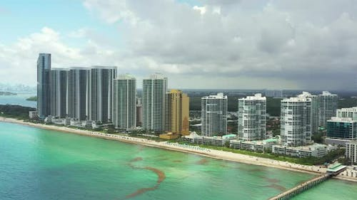 Oceanfront Realty Miami Fl Aerial Video