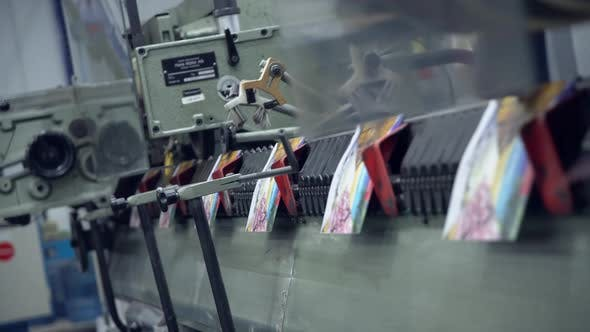 Thumbnail for View on Printing Machine in Action