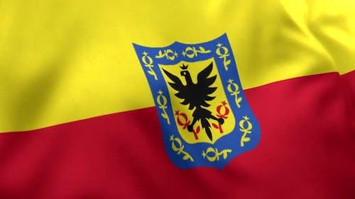 Bogota-Stadt-Flagge