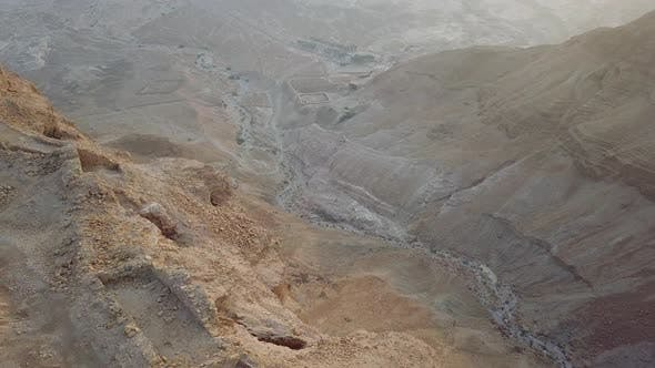 Thumbnail for Top View To Roman Fortress From Masada