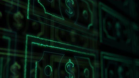 Thumbnail for Earning Money Online Banknotes 4k