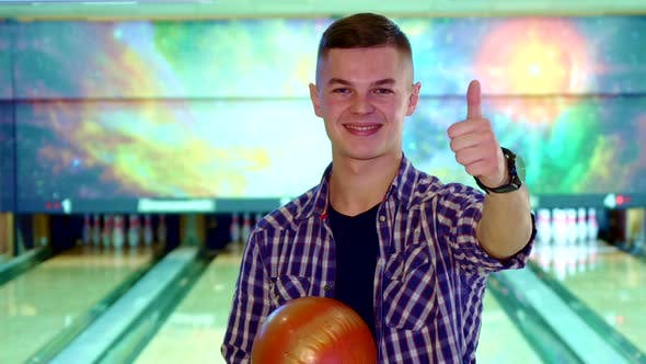Thumbnail for Guy Approves Bowling