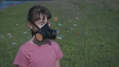 In Respirator By Garbage.