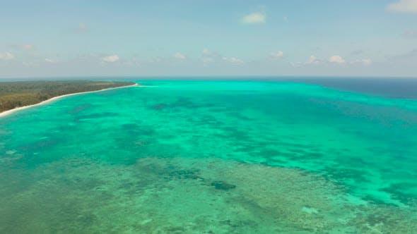 Thumbnail for Tropical Island with Sandy Beach. Balabac, Palawan, Philippines