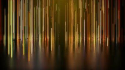 Gold Lights Background