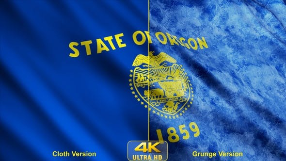 Thumbnail for Oregon State Flags