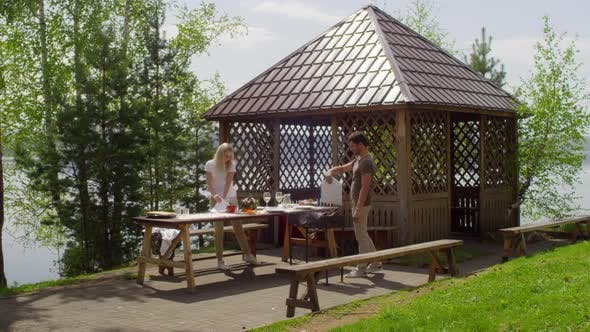 Thumbnail for Family Having Picnic on Summer Day