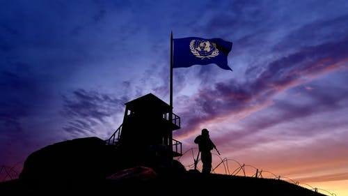 Shedding seizures at the border in the Evening Times UN Military