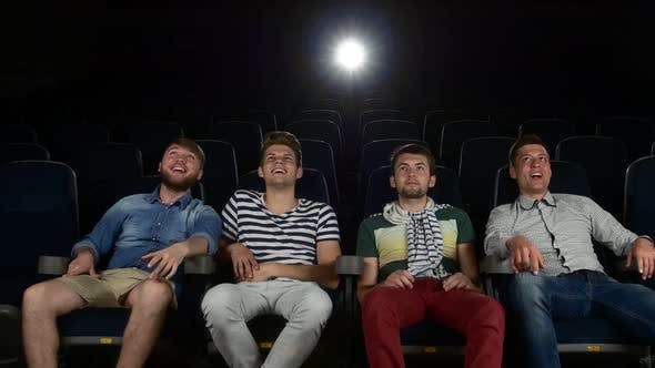 Thumbnail for Company of the Men Watching a Movie at Cinema
