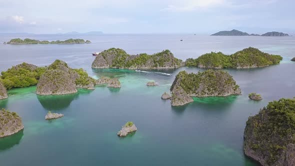 Thumbnail for Islands of Indonesia and Boats