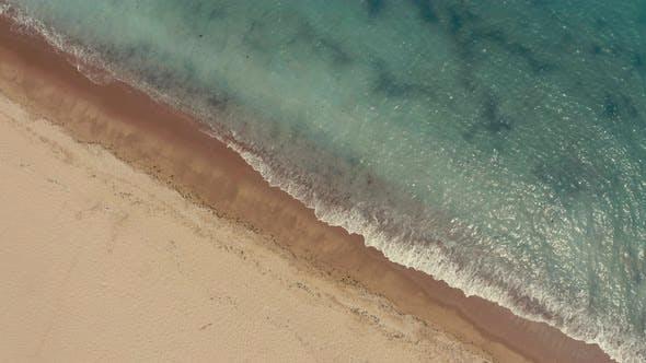 reverse aerial video