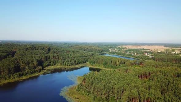 Thumbnail for Three Lakes In The Town Of Gorodok 07