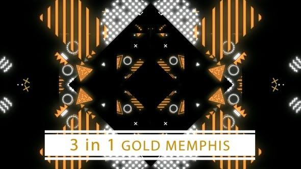 Thumbnail for Gold Memphis (Black)