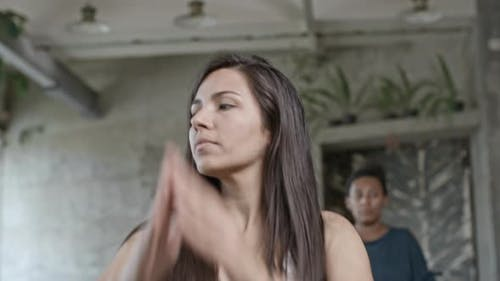 Latein Frau Tanzen