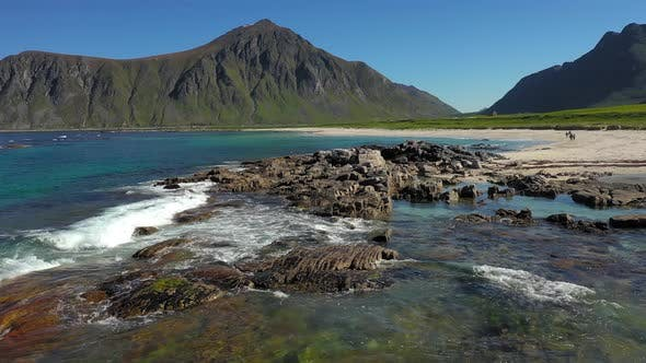 Thumbnail for Beach Lofoten Islands Is an Archipelago in the County of Nordland, Norway