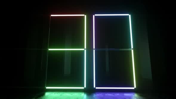 Neon Lights Countdown