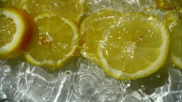 Falling of Segments of a Lemon 3