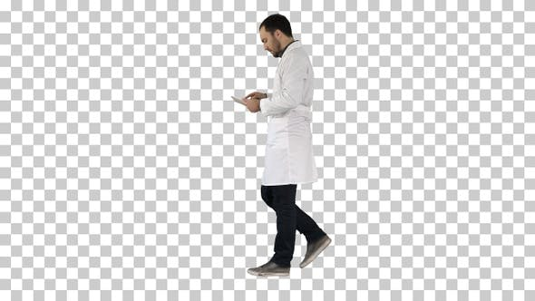 Thumbnail for Medical Care and Healthcare Doctor Use Tablet Checking