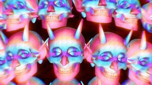 Glitter jocker masks