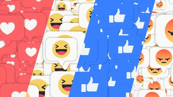 Facebook Emoji Loop Bg Pack 8 In 1