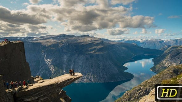 Trolltunga - Famous Norwegian Attraction