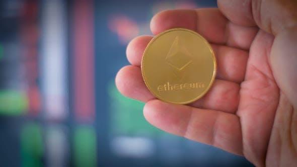 Thumbnail for Ethereum Eth Ether Kryptowährungsmünze