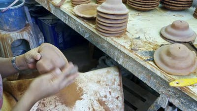 Working With Ceramic In Ceramic Workshop 2