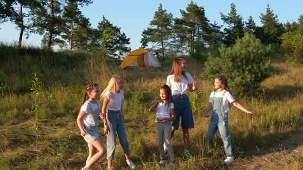 Natural School Camp Outdoor Camping