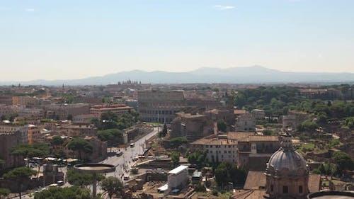 Rome Establishing Shot
