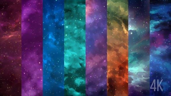 Thumbnail for Space Nebulae Pack 4 K
