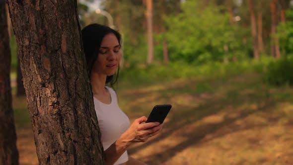 Thumbnail for Brunette Girl Doing Yoga Asana