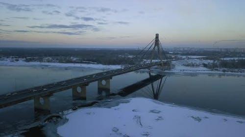 February 10 Ukraine Kiev South Bridge