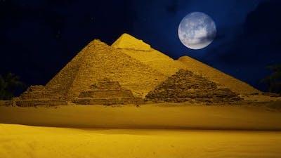 The Night At Pyramids