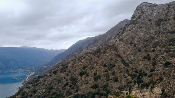 Thumbnail for Aerial View on Mountains in Montenegro