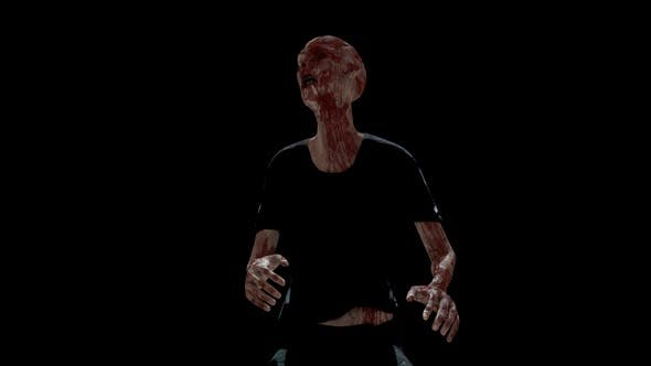 Zombie Low Angle