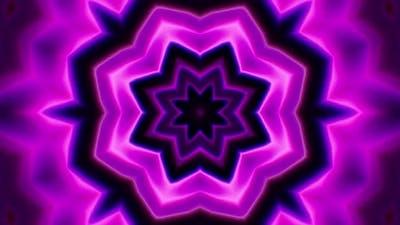 Purple Kaleidoscope Loop 4K 04