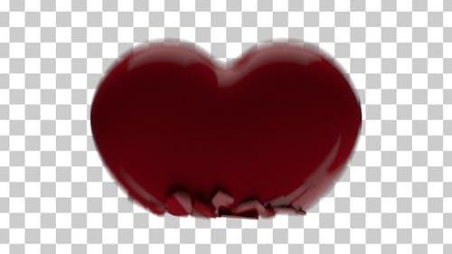Heart Crushing - 3D Heart Crushed